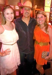 My best friend and I with Roger Creager!