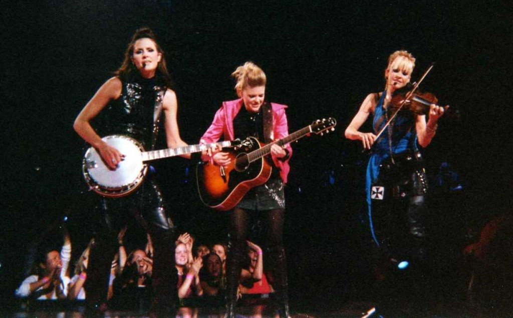 The girls at one of their last concerts in 2003