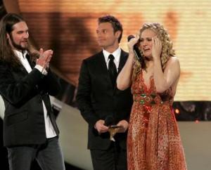 Carrie Underwood wins American Idol!