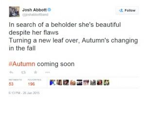 Josh Abbott Twitter