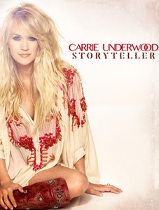 Carrie Underwood's latest album will be released on October 23rd.
