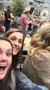 A selfie of me and Turnpike Troubadours