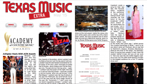 May 2015 Texas Music Magazine