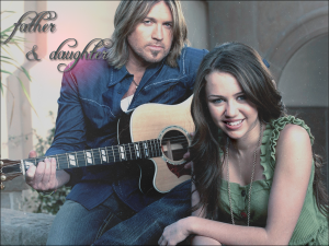 miley-and-Billy-Ray-Cyrus-Wallpaper-