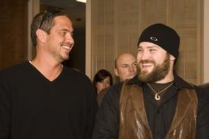 Wyatt Durrette (left) and Zac Brown (right)