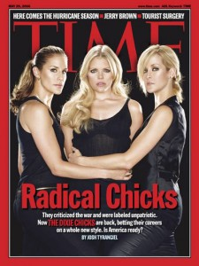 "The Dixie Chicks considered ""radical"" after unpatriotic outburst."