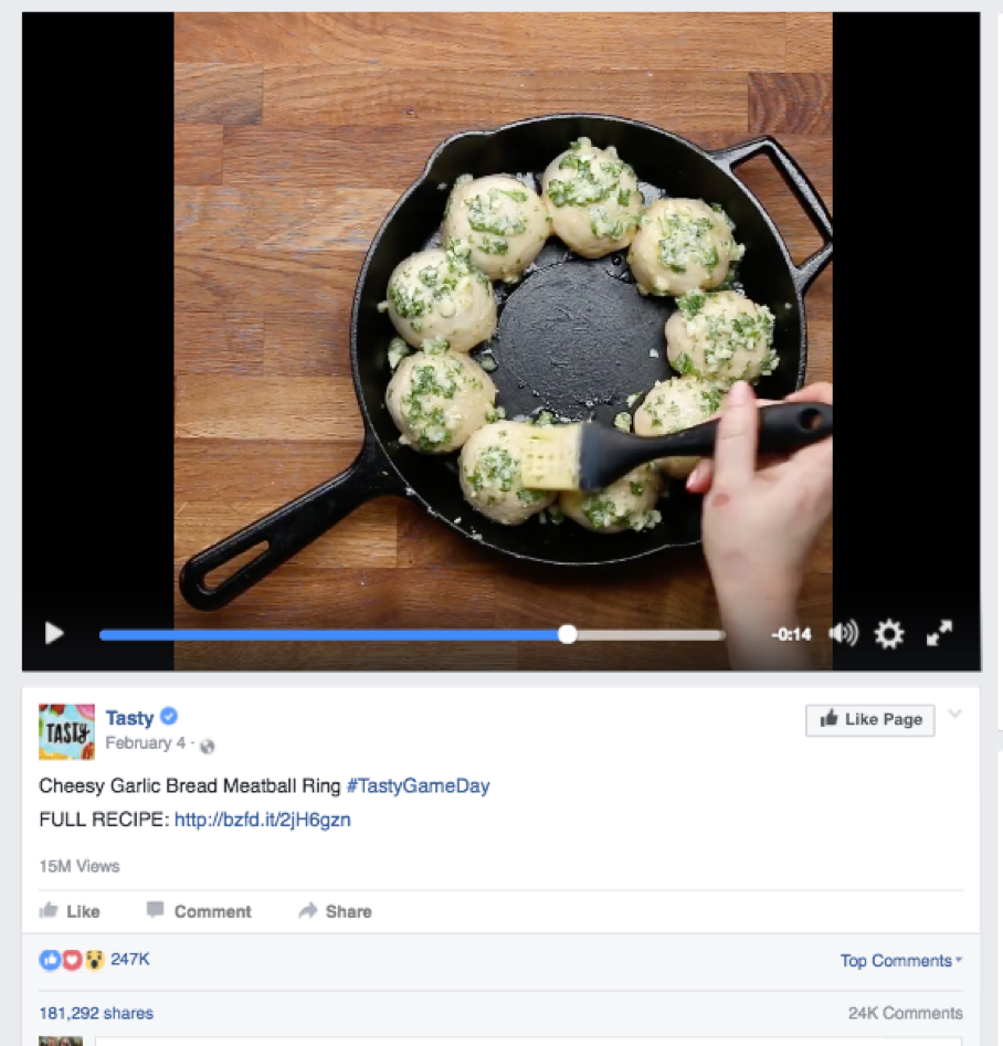 Matt rhetoric of food every time we talk about these gifvideo recipes we see on facebook we call them tasty videos even though many of these videos come from different forumfinder Choice Image
