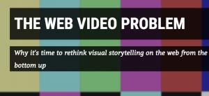 the web video problem